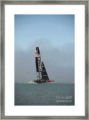 L I F T O F F -- U S A    Wins Framed Print by David Bearden