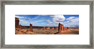 Tower Of Babel - Arches National Park Framed Print by Georgia Fowler