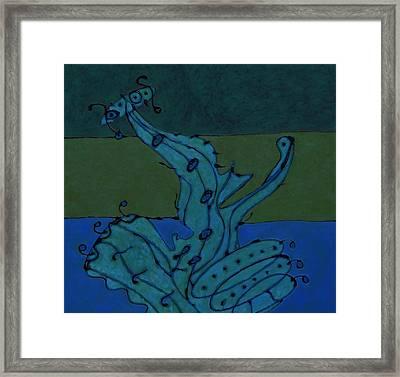 L Framed Print