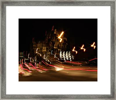 La-405 Flight Framed Print