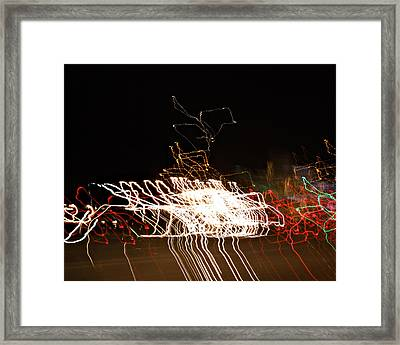 La-405 Frenzy Framed Print