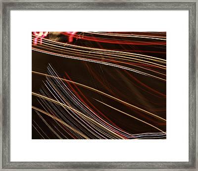 La-405 Lines Framed Print