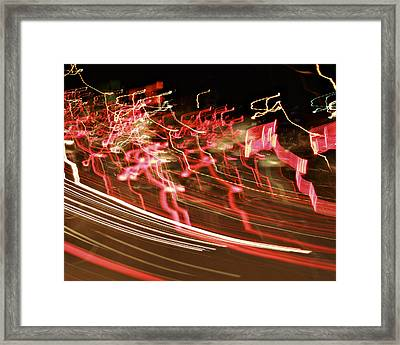La-405 Ribbons Framed Print