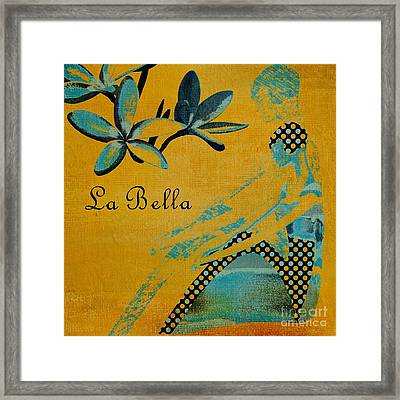 La Bella - 01t04yb Framed Print by Variance Collections