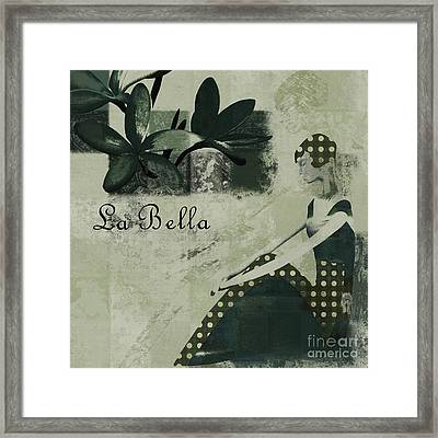 La Bella - Vieillot - 064067152-01 Framed Print by Variance Collections