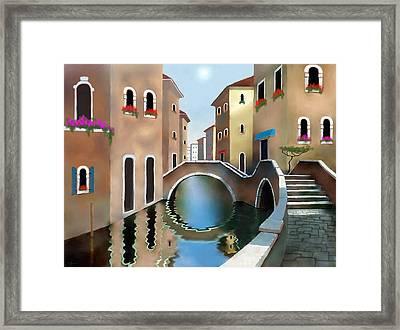 La Bella Vita Framed Print