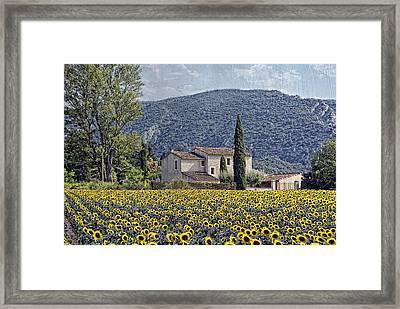 La Belle Saison Provencal Framed Print by Joachim G Pinkawa