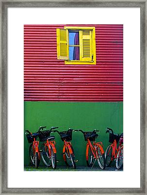 La Boca Framed Print by Kobby Dagan