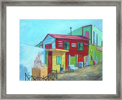 La Boca Morning I Framed Print by Xueling Zou