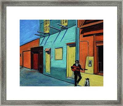 La Boca Morning II Framed Print