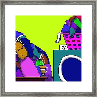 La Bugada Framed Print by Michelle Berger