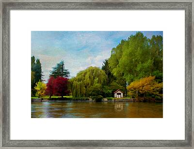 La Cabane A Acquigny Framed Print by Jean-Pierre Ducondi