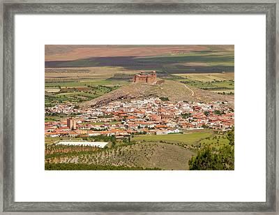 La Calahorra Castle Framed Print