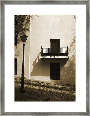 La Caleta Framed Print