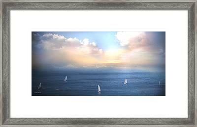 La Carrera Framed Print