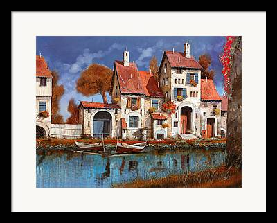 Village Framed Prints