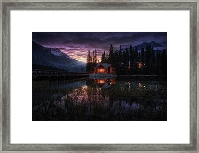 La Casita Framed Print