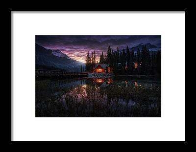 Night Out Framed Prints