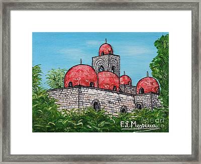 La Chiesa Di San Giovanni Degli Eremiti  Framed Print