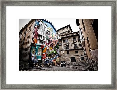 La Ciudad Pintada Framed Print