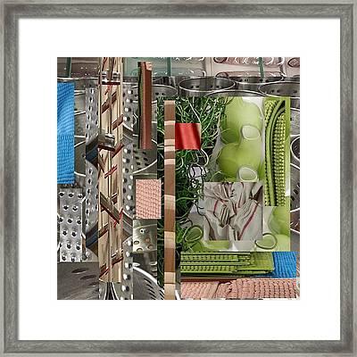 La Cocina Framed Print