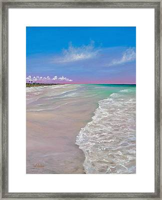La Costa Framed Print by Eve  Wheeler