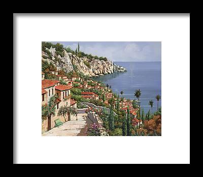 Capri Framed Prints