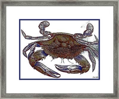 La' Crab Fest Framed Print by Theo Bethel