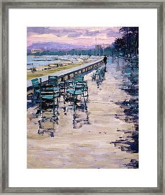 La Croisette Framed Print by Michael Swanson