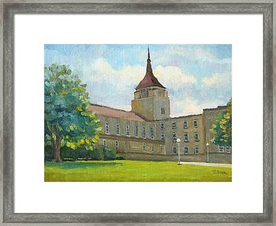 La Crosse Diocese Framed Print