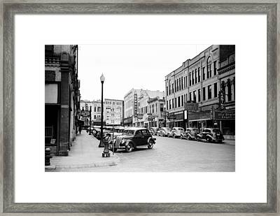 La Crosse Wisconsin 1939 Framed Print