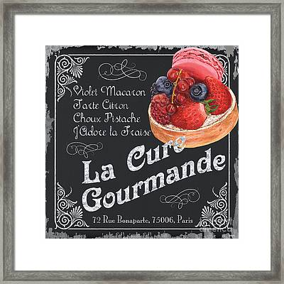 La Cure Gourmande Framed Print by Debbie DeWitt