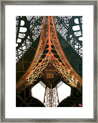 Framed Print featuring the painting La Dame De Fer by Tom Roderick