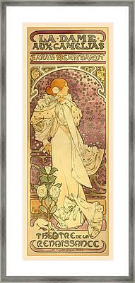 La Dame Framed Print
