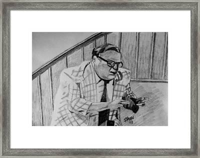 La Dee Frickin Da Framed Print by Jeremy Moore