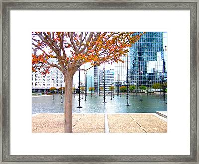 La Defense Framed Print by Oleg Zavarzin