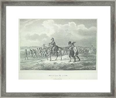 La Division Pino Framed Print by British Library