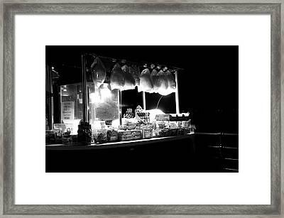 La Dolce Notte Framed Print
