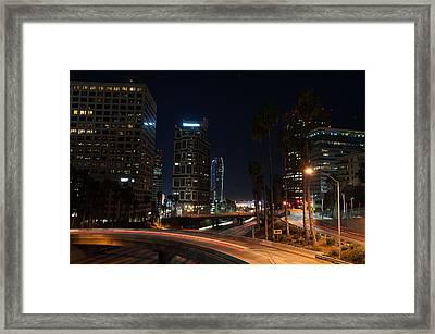 La Down Town 2 Framed Print by Gandz Photography