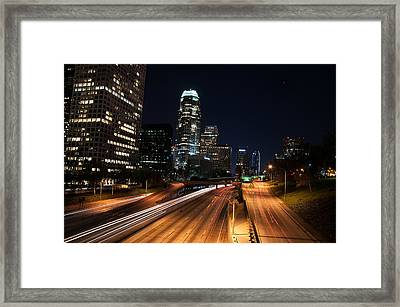 La Down Town Framed Print by Gandz Photography