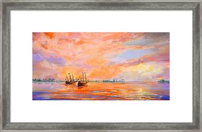 La Florida Framed Print by AnnaJo Vahle
