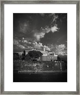 La Fortaleza Framed Print