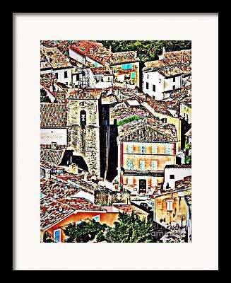 La Garde Freinet Framed Prints