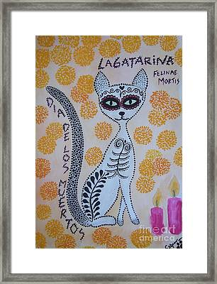 La Gatarina Framed Print