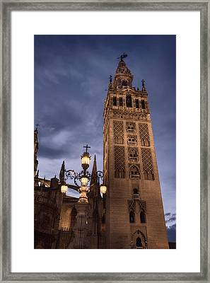 La Giralda Night Framed Print