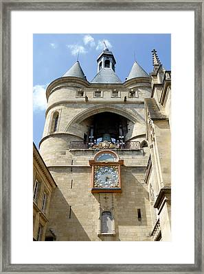 La Grosse Cloche Framed Print