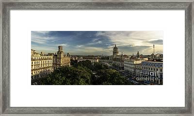 La Habana Cuba Capitolio Framed Print