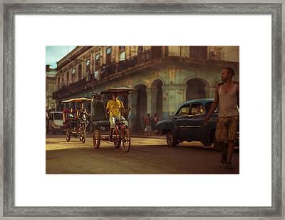 La Habana, Sus Sombras, Su Polvo, Su Gente Framed Print