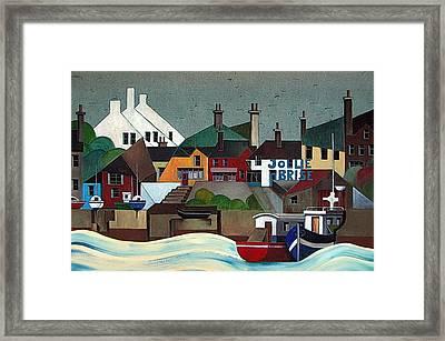 La Jolie Brise  Baltimore Cork Framed Print
