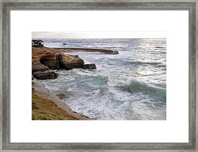 La Jolla Ca Framed Print by Gandz Photography
